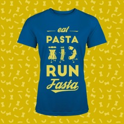 idée cadeau t shirt running eat pasta run fasta