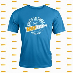 idée cadeau t shirt trail running fun et original - Ravito en cours loading please wait