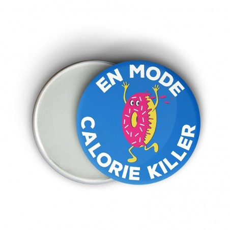 Magnet motivation running - En mode calorie killer - Idée cadeau runneuses