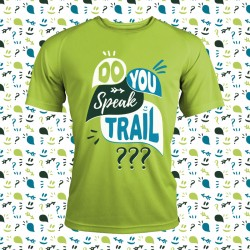 idée cadeau t shirt running fun et original -do you speak trail ?