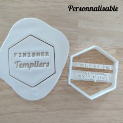 emporte-pièce running finisher personnalisable trail