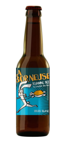 Running beer - La Borneuse